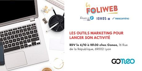 [Lyon] Les outils marketing pour lancer son activité billets