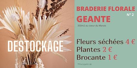 Braderie florale GEANTE N°2 billets