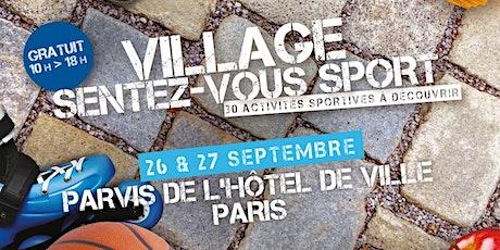 Village Sentez-Vous Sport 2020 billets