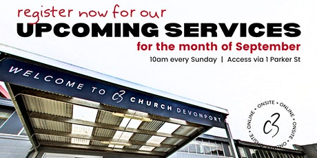 C3  Church Devonport Services tickets