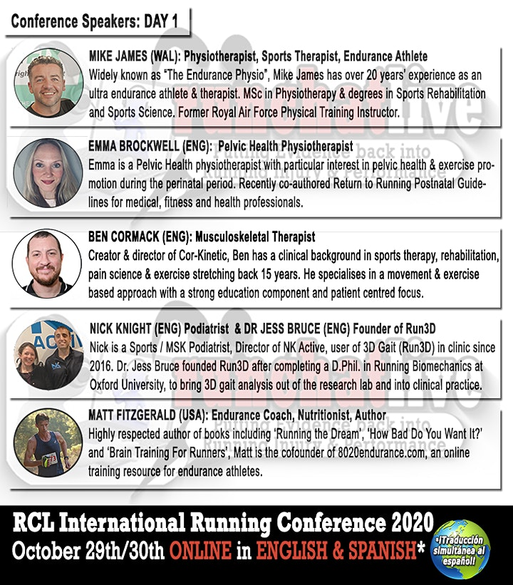 Run Chat Live International Running Conference 2020 image