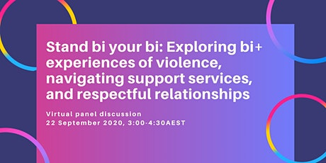 Stand bi your bi: Exploring bi+ experiences of violence, navigating support tickets