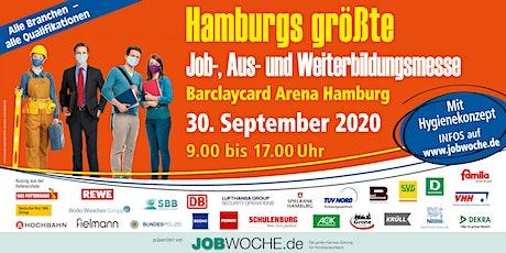 Hamburgs größte Job-, Aus- und Weiterbildungsmesse Tickets