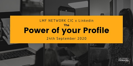 The Power of your Profile - Personal branding on Linkedin tickets