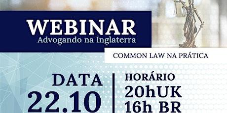 Advogando Na Inglaterra, Common Law Na Prática ingressos