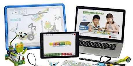 2ª Aula Experimental Gratuita - Lego Robótica bilhetes