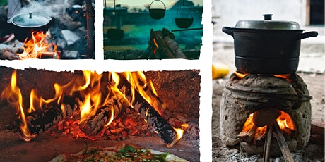 Cuisine sur feu de bois billets