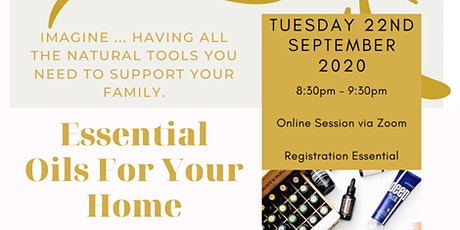 Oilology - Essential Oils For Your Home - Online Workshop tickets