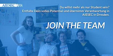 Lerne AIESEC in Dresden kennen billets