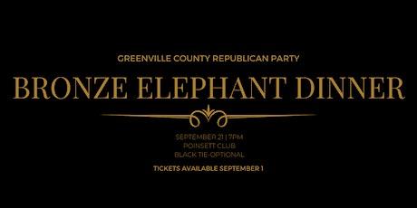 GCGOP Bronze Elephant Dinner tickets