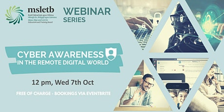 Cyber Security Awareness Webinar tickets
