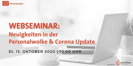 WEBSEMINAR: Neuigkeiten in der Personalwolke Tickets