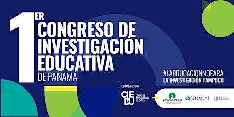1er Congreso de Investigación Educativa  en Panamá (Modalidad Virtual) entradas