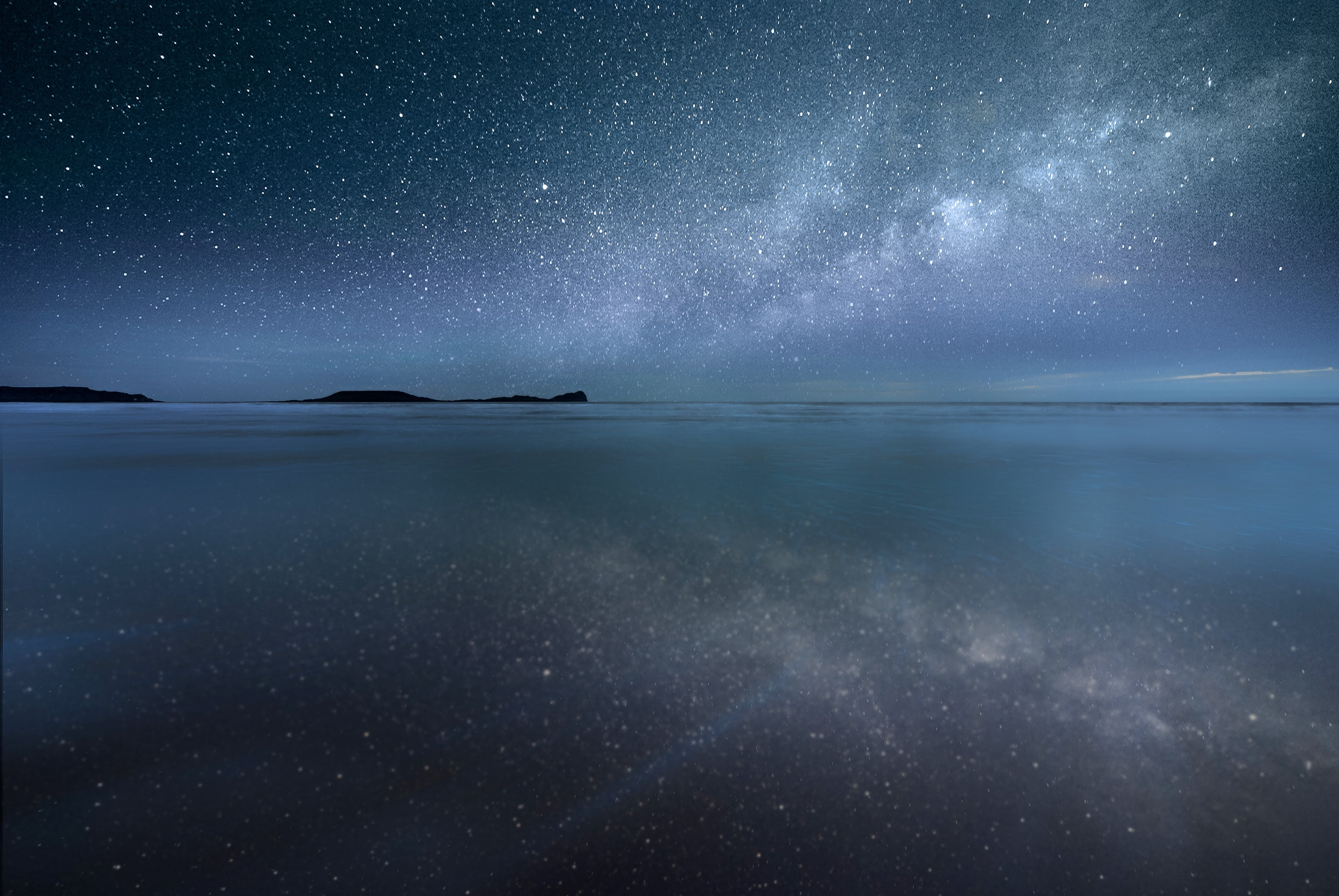 Milky Way Photography on the Gower Peninsula