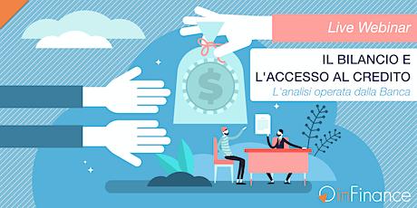 Live Webinar | Il Bilancio e l'Accesso al Credito biglietti