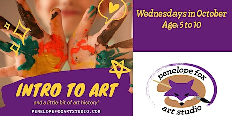Intro to Art, with a little bit of history! tickets