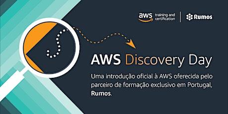 AWS Discovery Day bilhetes