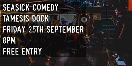 Seasick Comedy #2 Feat. Headliner Tom Ward tickets