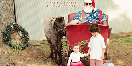 """Santa, Sleigh and """"Reindeer"""" Photo Sessions with Pixie Memories Photography tickets"""