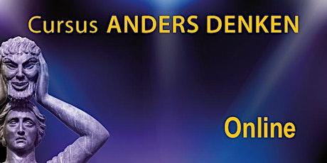 Online cursus Anders Denken (14 avonden) tickets