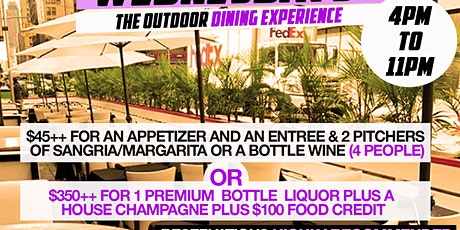 WE OUTSIDE WEDNESDAYS • THE OUTSIDE DINING EXPERIENCE • CARIBBEAN • URBAN tickets