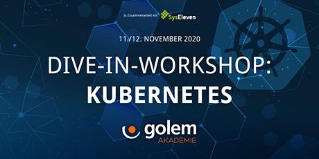 Dive-In-Workshop Kubernetes Tickets
