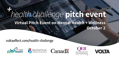 Virtual Health Challenge Pitch Event #2: Mental Health + Wellness tickets