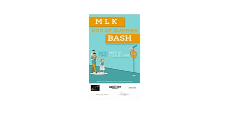 MLK End of Summer Block Party tickets
