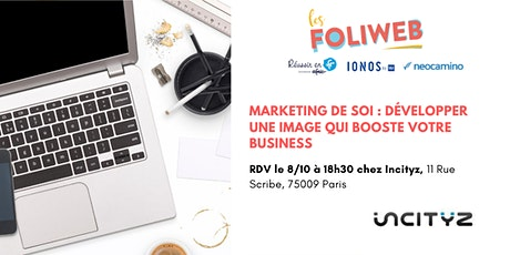 [Paris] Marketing de soi : développer une image qui booste votre business billets