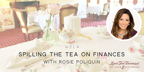 WE Lunch WE Learn: Spilling The Tea On Finances tickets