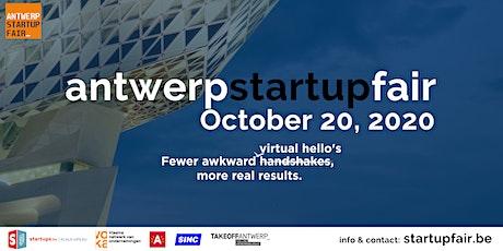 Antwerp Startup Fair 2020 tickets