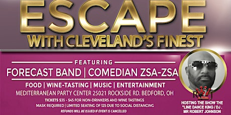 Escape with FORECAST Contemporary Jazz Band and Comedian Zsa Zsa tickets