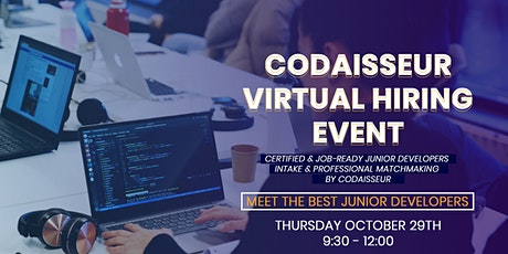 Virtual Hiring Event at Codaisseur tickets