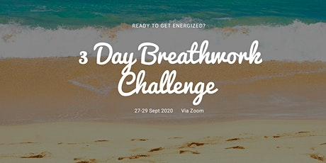 3 Day Breathwork Challenge tickets