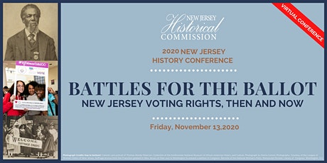 Battles for the Ballot: New Jersey Voting Rights, Then and Now tickets