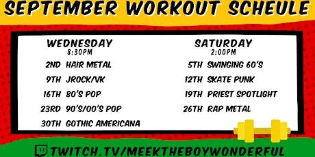 Beginner Aerobic & Body Weight Workout tickets