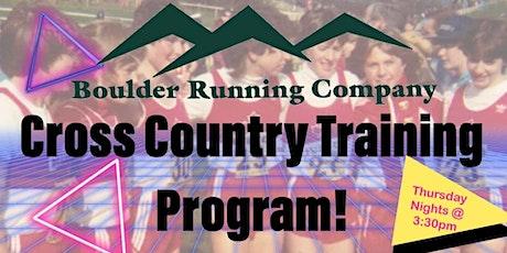 BRC Cross Country Training Program tickets