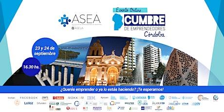 Cumbre de Emprendedores Córdoba entradas