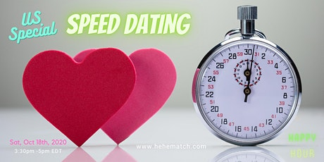 Speed Dating -- Special Love at Special Times (6/8-US Special) tickets
