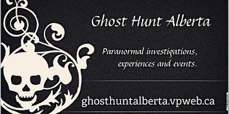 Paranormal Investigator training weekend tickets