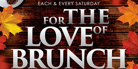 """""""For The Love Of Brunch"""" Indoor & Outdoor Dining Series At TAJ NYC tickets"""