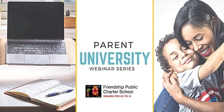 Parent University Webinar Series tickets