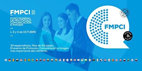 Foro Mundial de Protocolo, Comunicación e Imagen - entradas