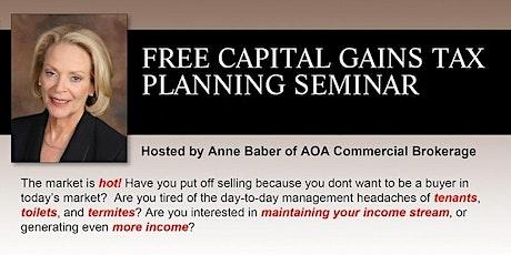 "Capital Gains Tax Planning  ""ZOOMINAR"""