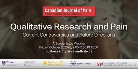 Qualitative Research and Pain: Current Controversies and Future Directions tickets