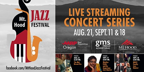 Mt Hood Jazz Festival LIVE AUDIENCE: Mt Hood Jazz Faculty Quintet tickets