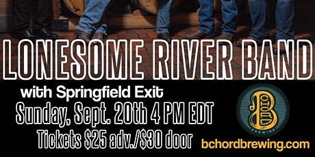 Lonesome River Band with Springfield Exit On The Lawn At B Chord Brewing tickets