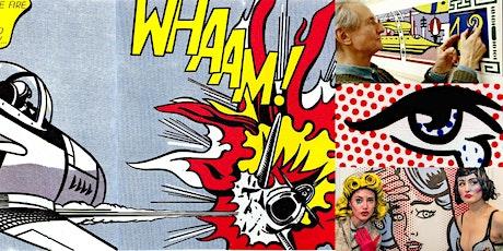 'The Enduring Enigma of Roy Lichtenstein' Webinar tickets