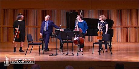 The Graduate Center Presents UNDERSCORED:  Copland Piano Quartet Music tickets