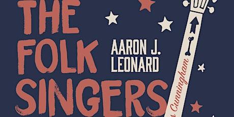 Folk Singers & The Bureau ONLINE w/Aaron Leonard tickets